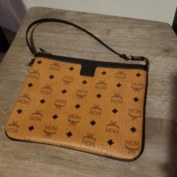 341c8c9377f4e MCM Bags   Authentic Tote Pouch Clutch   Poshmark